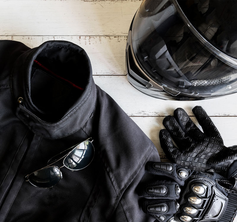 Abbigliamento per motociclisti: